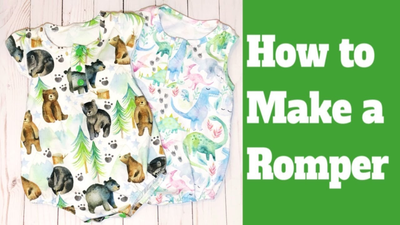 How To Make A Baby Romper You