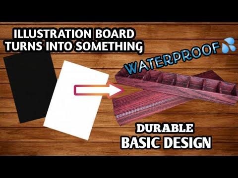 DIY LALAGYAN NG GAGAMBA #5 | BASIC DESIGN | ILLUSTRATION BOARD