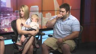 Lacey and Christian Buchanan, Stars of Inspirational Video, on Fox17