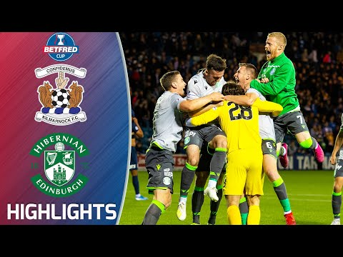 Kilmarnock 0-0 Hibernian   Hibs Reach Semi-final In Penalty Shootout!   Betfred Cup