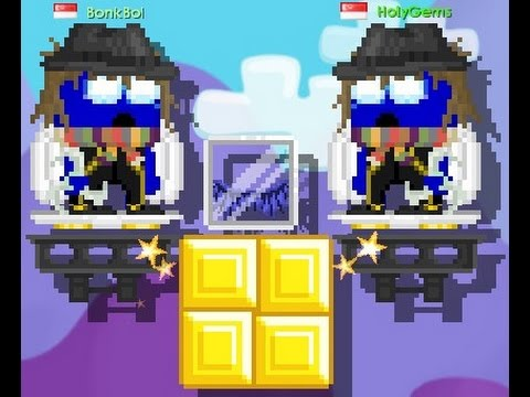 steel chair growtopia neutral posture icon making blue crystal wings youtube
