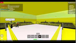 Roblox NXT Wrestling Show 1, Episode 3, TAG TEAM TURMOIL [TAG TITLES]