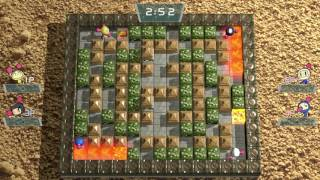 Super Bomberman R - All unlockable normal stages (no commentary)