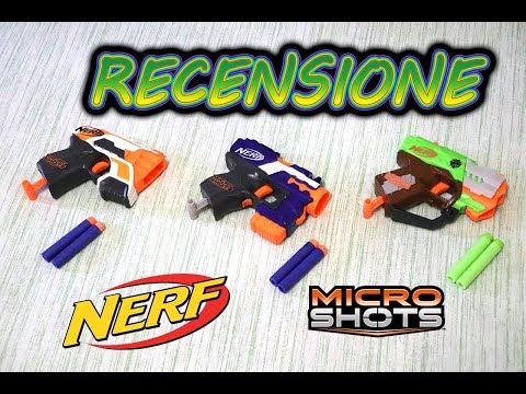 Recensione Nerf MicroShots ITA V2 || FossilNerf Channel