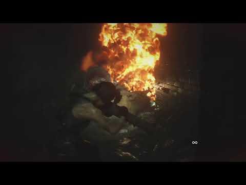 Rocket Fazes Through Wall... then Hunter Gamma Death... again... - RE3 Remake Fail