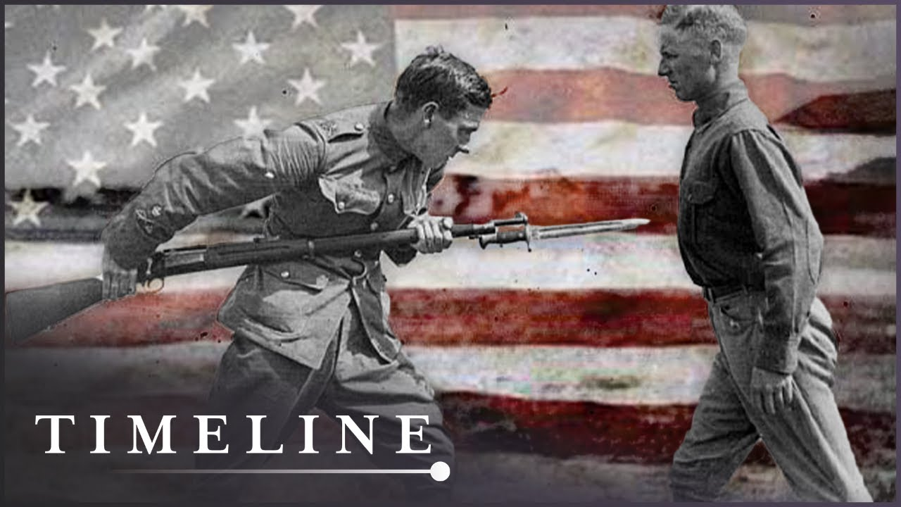 How The Americans Entered World War One | Great War In Numbers | Timeline