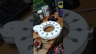 Stepper motor iris testing