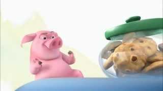 Phim Hoat Hinh | Chu Heo Ăn Bánh Quy | Chu Heo An Banh Quy