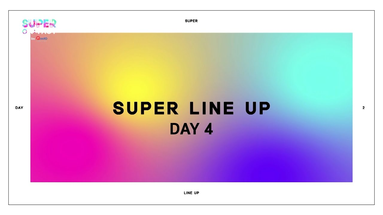 [슈퍼온택트] 2020 슈퍼콘서트-SUPER ON:TACT 《✌𝗗𝗔𝗬𝟰✌ 𝗟𝗜𝗡𝗘 𝗨𝗣》 대공개!