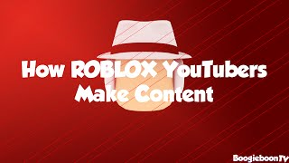 How most ROBLOX YouTubers Make Content (ROBLOX SHORT)