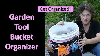 Garden Tool Bucket Organizer