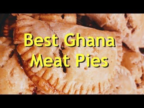 Best Ghana Meat Pie