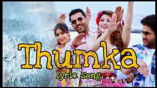 Thumka lyrics (Pagalpanti) Yo Yo Honey Singh, John, Urvashi, Ileana
