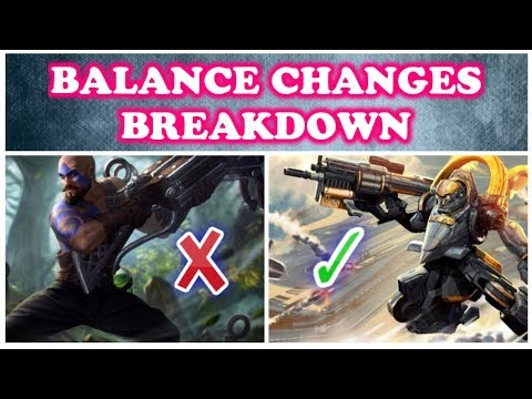3.10 PATCH NOTES BREAKDOWN BALANCE CHANGES HEROES AND ITEMS META - VAINGLORY 5V5 UPDATE 3.10