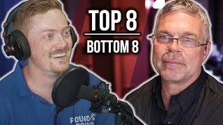 Top 8 | Bottom 8 | Prediction Show with John Brzenk