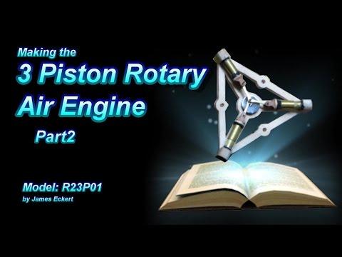 3 Piston Rotary Engine Part 2