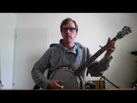 Johnny Come Lately - The Pogues with Steve Earle Banjo Cover + Chords and Pattern