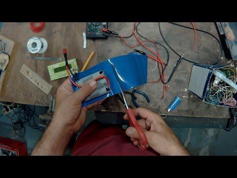 DIY li-ion battery pack 18650BD 3S 3200ma 10ah cdr