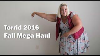Torrid Plus Size Fashion Fall Mega Haul 2016