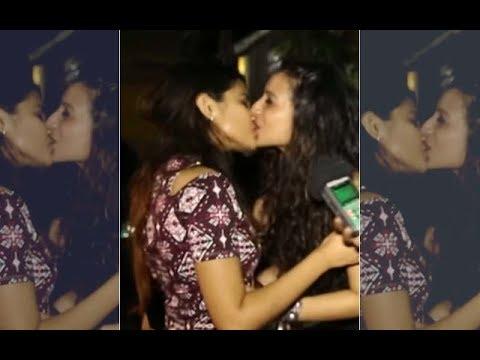 WILD! Benafsha Soonawalla Kisses A Girl On Lips For A Free Tequila Shot? | SpotboyE