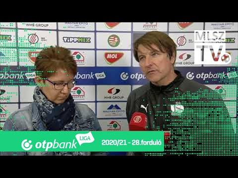 Edzői értékelések a MOL Fehérvár FC – Újpest FC mérkőzésen thumbnail