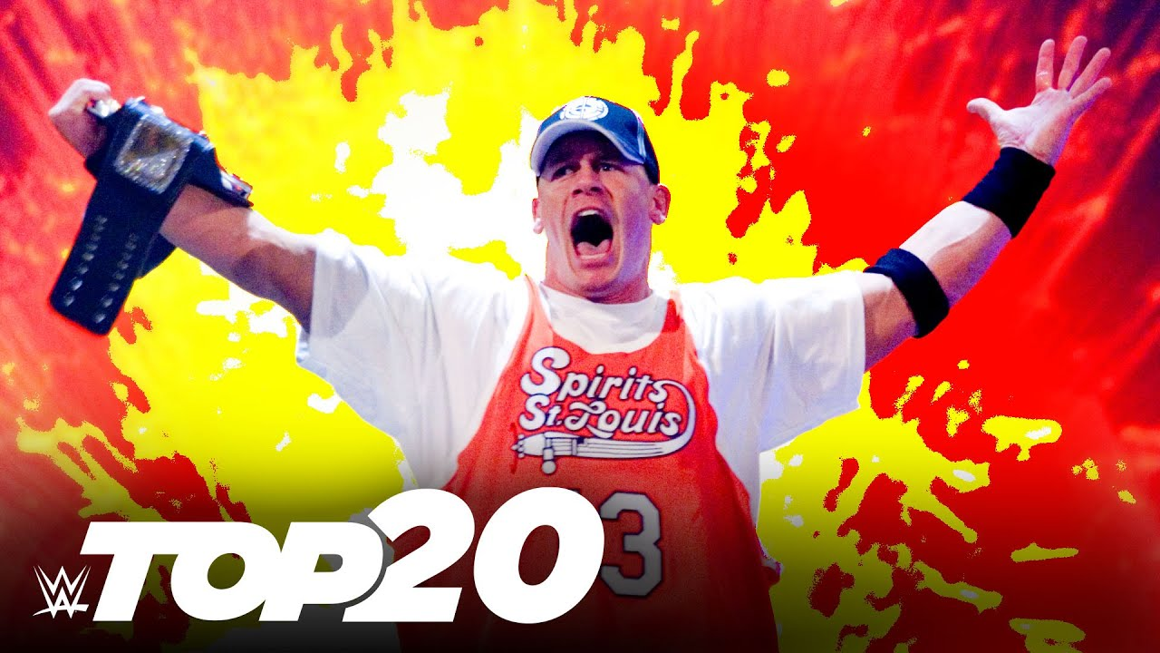 Download 20 greatest John Cena moments: WWE Top 10 Special Edition, Aug. 15, 2021