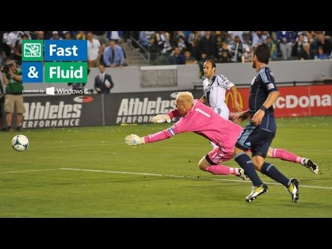 Fast & Fluid Play of the Week: Keane and Donovan's Fantastic Fast-break Goal