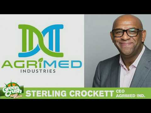 Green Crush With Alan Park - Sterling Crockett Interview, CEO of Agrimed