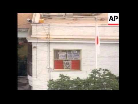 PERU: LIMA: HOSTAGE CRISIS: REBELS AGREE TO MEDIATION