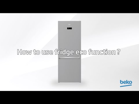 How to use fridge Eco Function? | by Beko