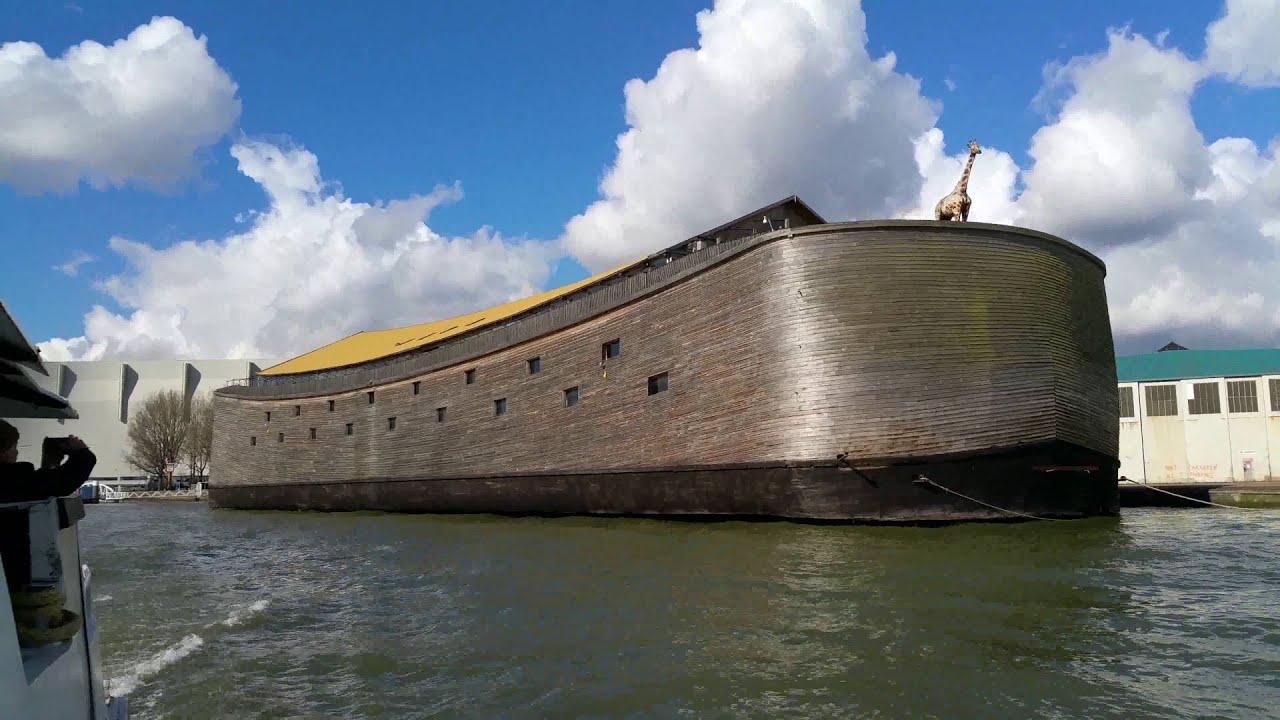 Ark of Noah Full Size Replica - YouTube
