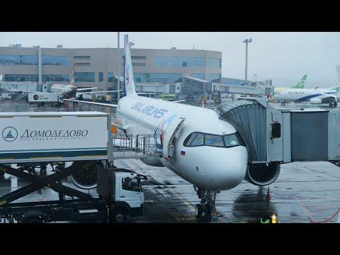 Airbus A320neo Уральских авиалиний | Рейс Москва - Санкт-Петербург