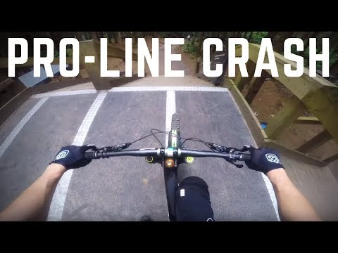 How NOT To Ride The Pro-Line (WindHill BikePark)