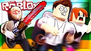 Roblox Adventure - RUN FROM JASON THE KILLER! (Escape Camp Roblox Obby V.2)