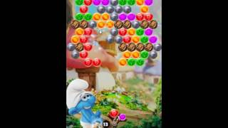 Smurfs Bubble Story Level 98 - NO BOOSTERS