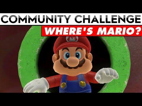 {CLOSED} SUPER MARIO ODYSSEY COMMUNITY CHALLENGE | Where's Mario? (T-Shirt Prizes!!)
