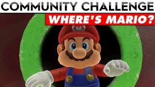{CLOSED} SUPER MARIO ODYSSEY COMMUNITY CHALLENGE | Where's Mario? (T-Shirt Prizes!!)