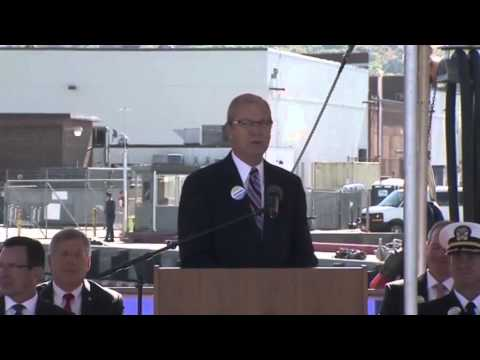Rep. Kevin Cramer at the USS North Dakota Commissioning