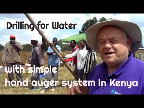 Drilling a Water Well in Kenya