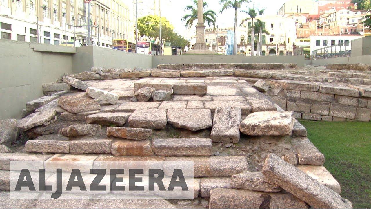 Former Brazil slave port declared a world heritage site