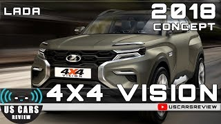 2018 LADA 4X4 VISION CONCEPT Review