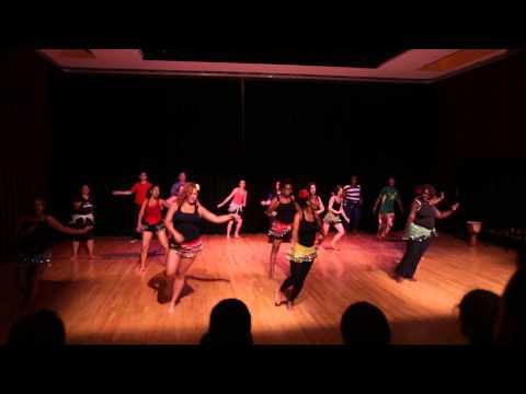 Samba dance at Old Town School of Folk Music