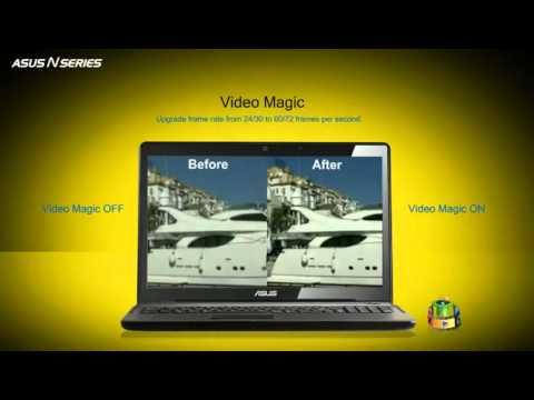 ASUS N Series Notebook   Splendid Super Sonic Multimedia Enjoyment!