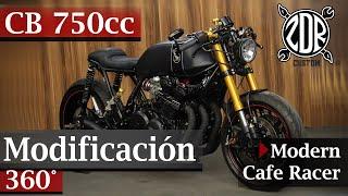🔥Honda CB 750cc CAFE RACER Modificacion | Review 360°🔥