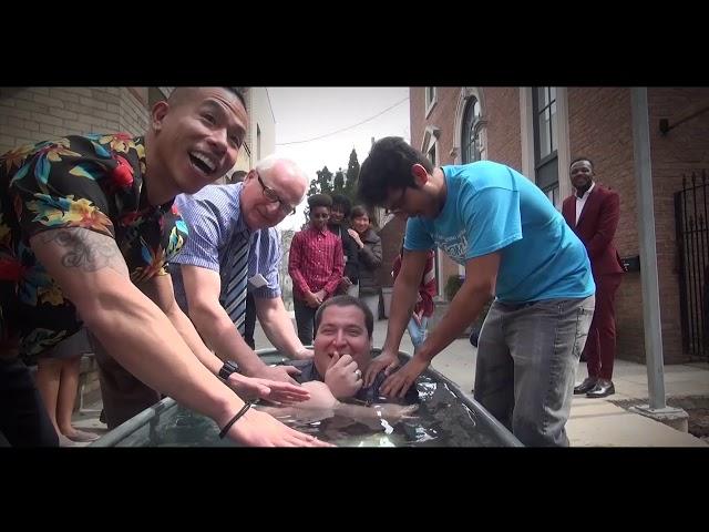 Andrew's Baptism