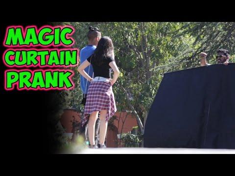 Magic Curtain Prank