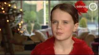 Amira Willighagen - Short Interview after Winning HGT 2013 - TV Gelderland - 29 December 2013