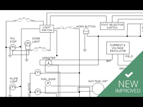 Improved Electrical Diagrams in SmartDraw - YouTube