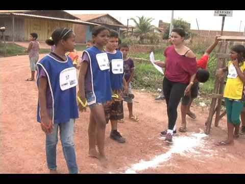 Projeto atleta na escola Maria Lúcia Bichara