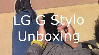 LG G Stylo from Cricket Wireless Unboxing